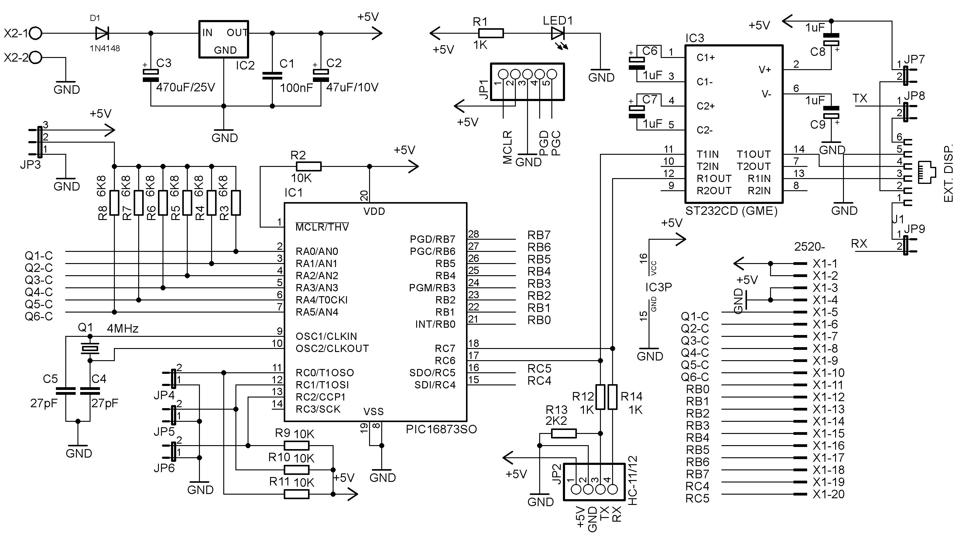 Schéma zapojení – Deska převodníku 399599a4c21